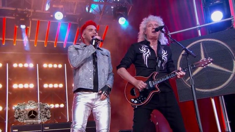 ''Don't Stop Me Now'' ( Live Jimmy Kimmel 2017 ) - Queen Adam Lambert