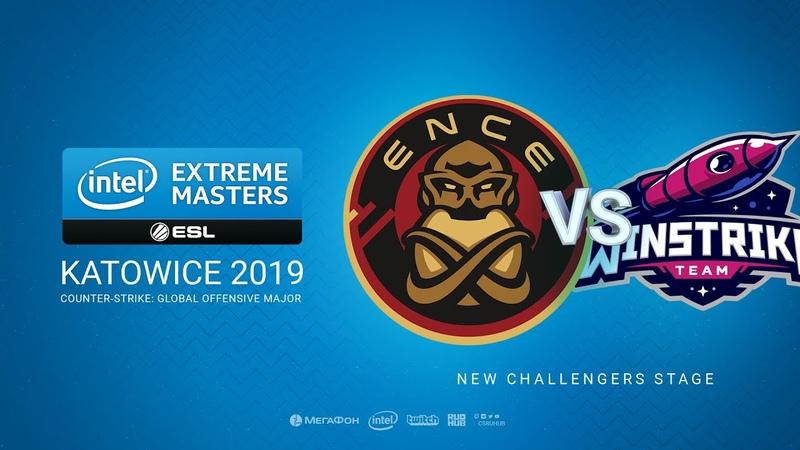 ENCE vs Winstrike - IEM Season XIII - Katowice Major 2019 - map2 - de_mirage [Anishared Gromjkeee]