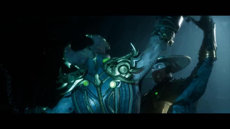 Сюжетный трейлер Mortal Kombat 11.