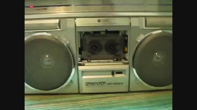 Ремонт Магнитофона SHARP GF 6363 1981 года Полная капиталка Механика Замена двигателя с дополнительной платай Крышке касс