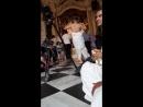 Vrindavana Dham, dance in Krishna Balaram mandir ISKCON
