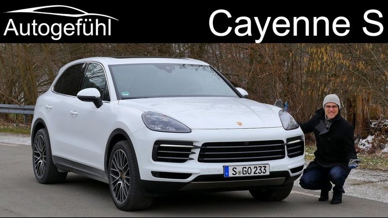 Porsche Cayenne S FULL REVIEW test all-new Cayenne 2019 2018 - Autogefühl