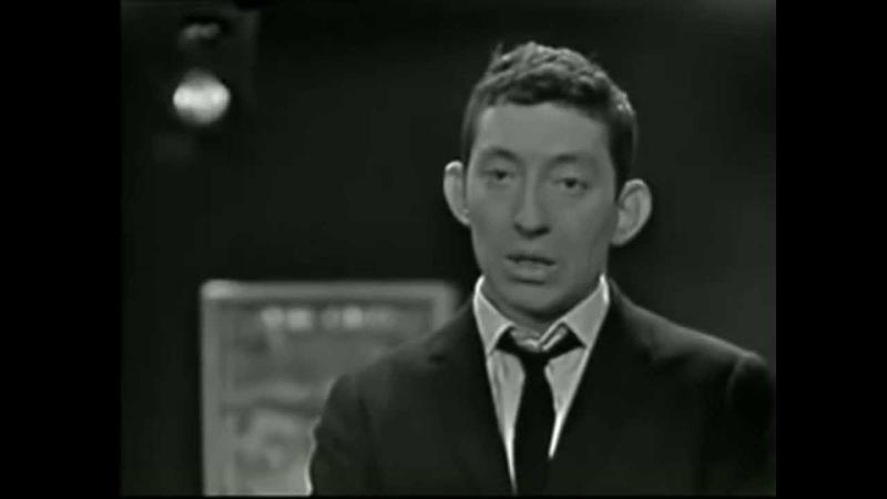 Serge Gainsbourg la chanson de Prévert HQ STEREO 1961