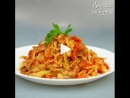 Тушеная капуста с мясом ингредиенты указаны в описании видео