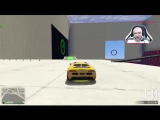 ч.38 ВЧЕТВЕРОМ СХОДИМ С УМА!! ЭКСПЕРИМЕНТЫ!! КОМНАТА ЮТУБЕРА!! - Один день из жизни в GTA 5 Online