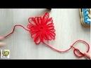 Цветочный лум: как сделать ровные отверстия с краями - валиками, ч.2