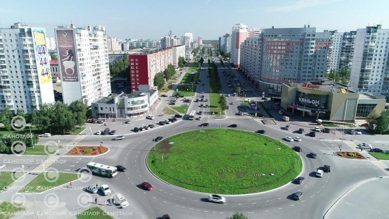 Нижневартовск Кольцо Ленина Чапаева