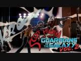 SCOTT PILGRIM VS. THE WORLD (Guardians of the Galaxy Vol. 2 style)