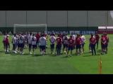Как сборная России готовится к матчу с Египтом