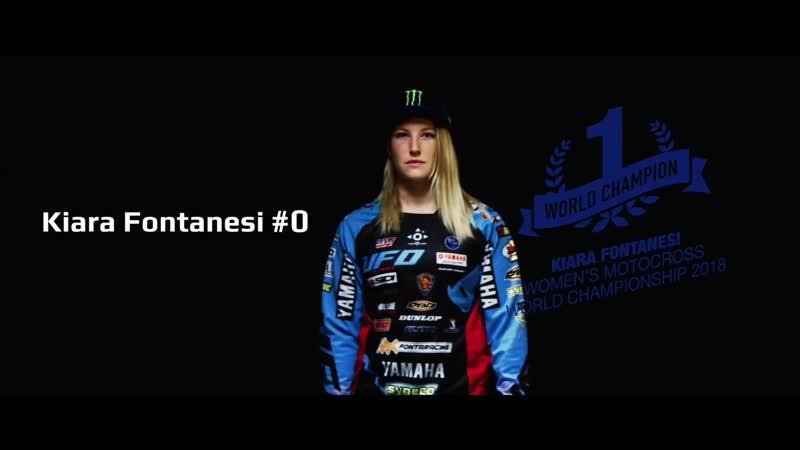 Киара Фонтенези Kiara Fontanesi №8 Шестикратная чемпионка мира в классе WMX