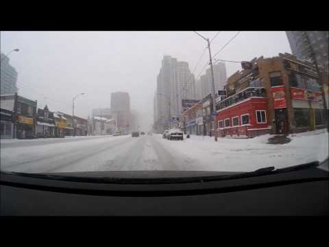 Winter in Toronto North York February 2017