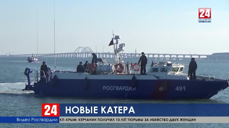 Акваторию Керченского пролива у Крымского моста будут охранять новые десантные катера