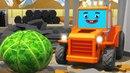 Мультики про машинки - Трактор ТОМ на ФЕРМЕ - Новый Сборник Мультфильмы для детей