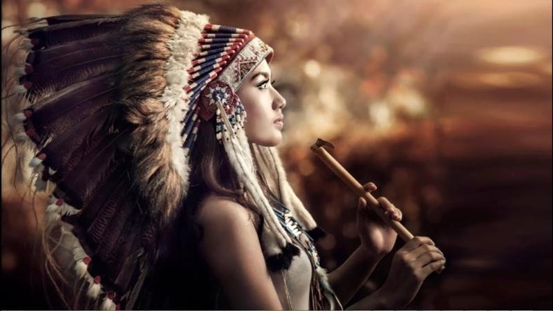 Flauta Nativa Americana e Ondas Oceânicas Native American Flute and Ocean Waves