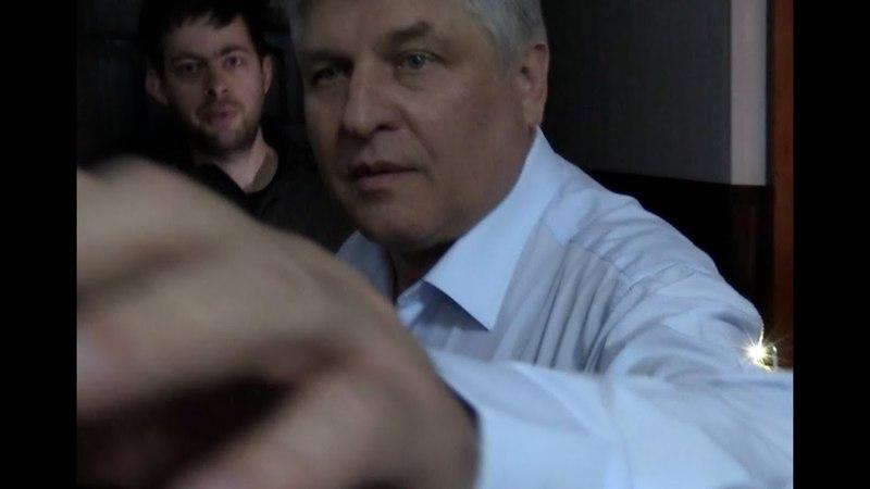 Начальник ритуальних послуг КМДА Микола Бабій напав на журналіста Стопкору