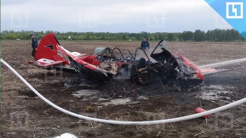 Самолёт Як-52 рухнул в Алтайском крае