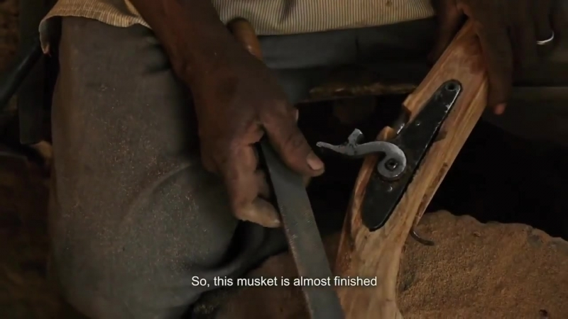 Кустарное изготовление огнестрельного оружия в африке