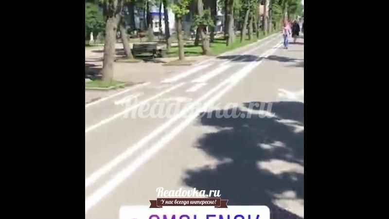 Улица Октябрьской Революции в Смоленске снова стала торговой зоной