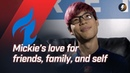 """Fuel's Mickie on mental self care I play piano I just put myself in the music """""""