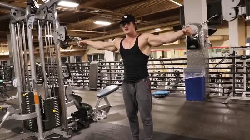 Jeff Seid о тренировки груди и питании - 1 (Джефф Сейд на РУССКОМ)