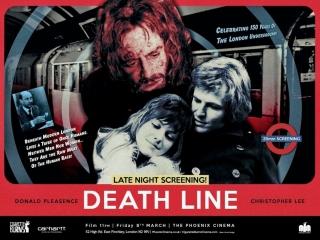 Линия смерти/ сырое мясо/ death line/ raw meat (1972) dir. gary sherman