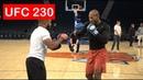 JACARE SOUZA UFC 230 OPEN WORKOUT