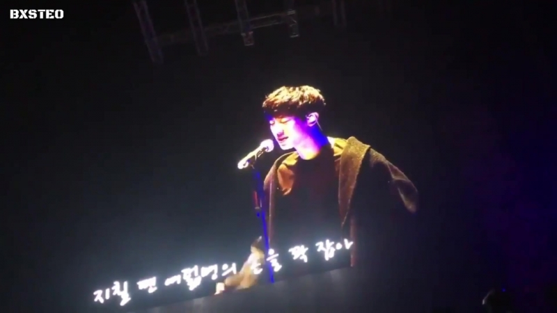 [LQ FANCAM] 171124 `The EℓyXiOn` in Seoul_ D-1 @ EXOs Chanyeol — Rap Solo