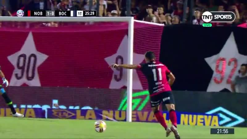 TNTSports Pero qué pedazo de gol, Maxi! Newells armó una gran jugada y la Fiera le rompió