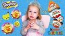 Unboxing Kinder Surprises Chupa Chups Shopkins Оливка и eё сюрпризы 🐣🐣🐣