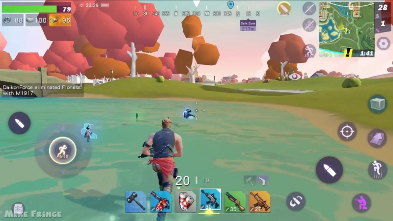 FortCraft Gameplay Android - iOS - Brand New Battle Royale Game by NetEase