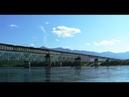 Обрушение Витимского моста попало на видео Мост смыло ледоходом