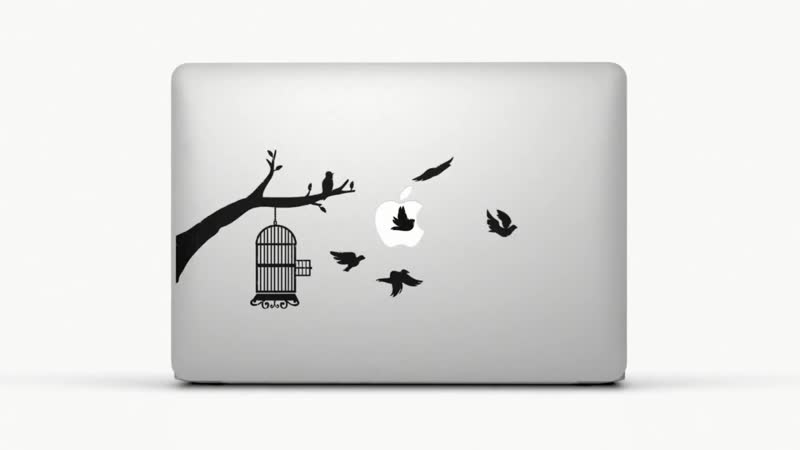 Наклейки на MacBook это круто