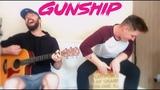 Gunship - Dark All Day - Cover