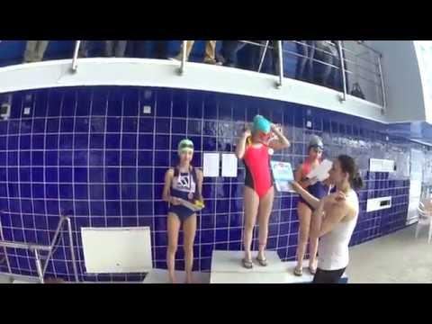 220418 Награждение дев 2006 Иващенко Мария 3 место 2 юн 50 м вс