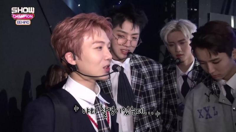 180424 Pentagon on MBC Show Champion Behind Ep 88