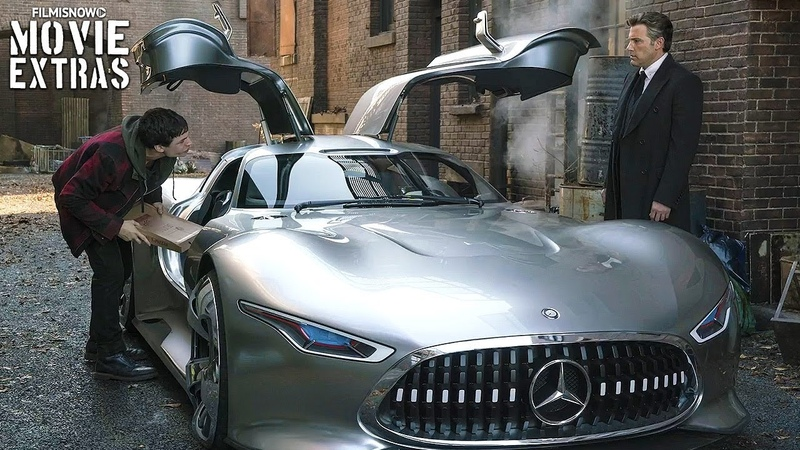 Justice League Mercedes E-Class Cabriolet Vision Gran Turismo Featurette (2017)