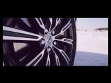 Volvo XC60 - Ice track. Карелия.  Илона Накутис совместно со Swed-Mobil.