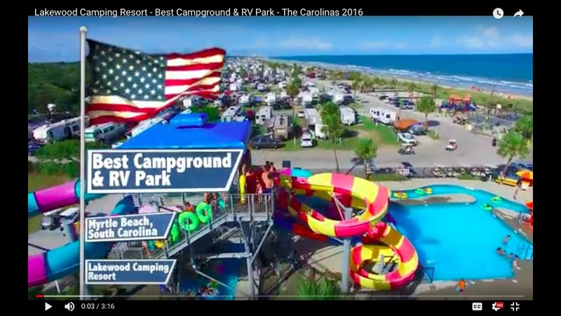 Lakewood Camping Resort - Best Campground RV Park - The Carolinas 2016