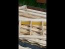 Подготовка сотового мёда в мини рамках