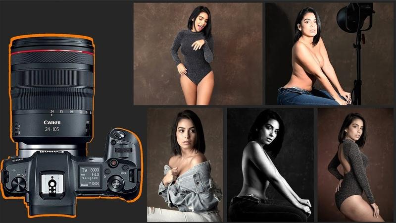 Canon EOS R Studio Portraiture Review
