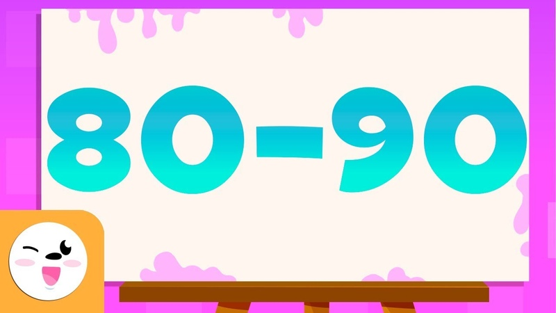 Guess the numbers from 80 to 90 - Learn to read and write numbers from 1 to 100