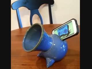 Усилитель звука из керамики для мобильного телефона