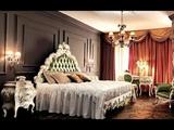 Стиль рококо для роскошной спальни