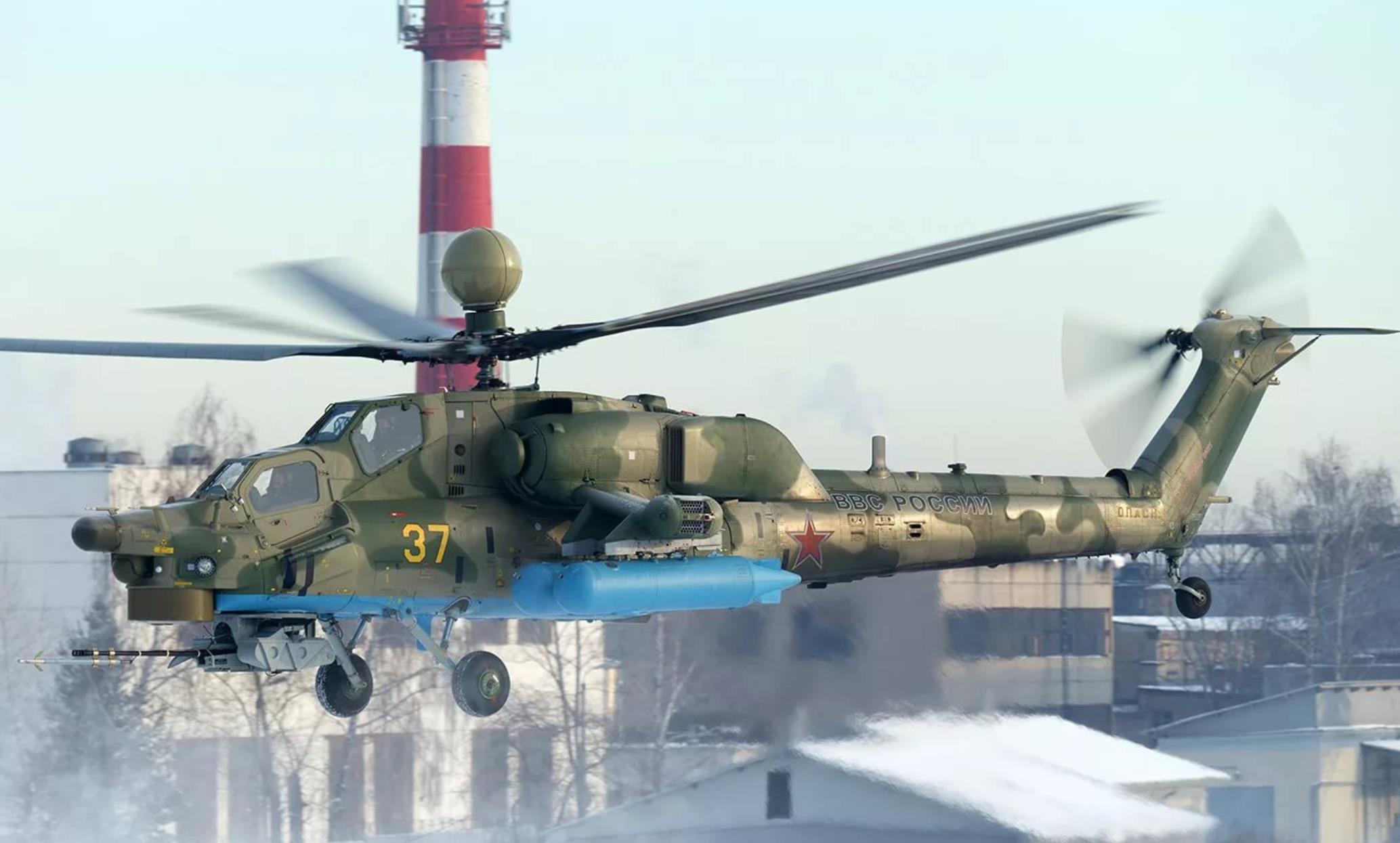 Вертолёт Ми-28УБ