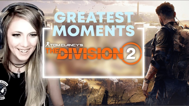 TOM CLANCYS THE DIVISION 2 | Highlight and Funny Moments | Lindsay Elyse