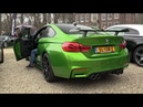 BMW M4 F82 with M-Performance Exhaust - REVS ACCELERATIONS!