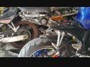 Suzuki gsx r 600 sc project egzoz sesi