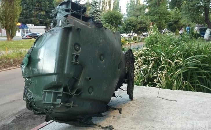 Вандалы уничтожили в Курске 48 евроконтейнеров