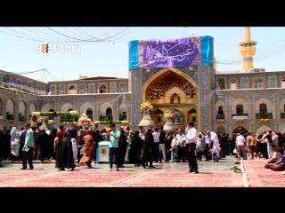 Iraníes festejan el aniversario del nacimiento del Imam Reza (P)