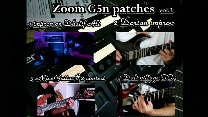 ZOOM g5n patches (photos setting) - vol.3